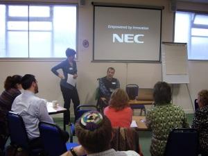 Simon Davies discusses his volunteering role