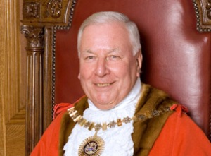 Councillor Brian Schama, Mayor of the London Borough of Barnet