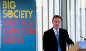 """David Cameron: what does he mean by """"Big Society""""?"""