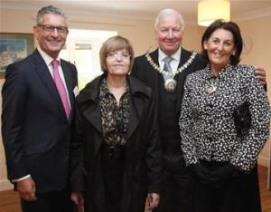 The Mayor opens Somers Court, a Norwood home in Edgware