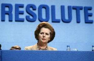 "Margaret Thatcher: an ""exceptional leader"""